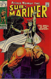 Sub-Mariner Vol.1 (Marvel - 1968) -9- The Spell of the Serpent!