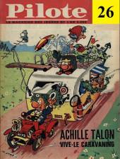 (Recueil) Pilote (Album du journal - Édition française cartonnée) -26- Reliure n°26