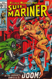 Sub-Mariner Vol.1 (Marvel - 1968) -20- In the Darkness Dwells Doom!