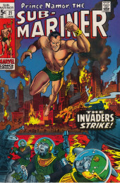Sub-Mariner Vol.1 (Marvel - 1968) -21- Invasion From the Ocean Floor