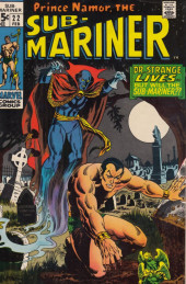 Sub-Mariner Vol.1 (Marvel - 1968) -22- The Monarch and the Mystic!