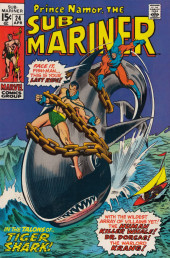 Sub-Mariner Vol.1 (Marvel - 1968) -24- The Lady and the Tiger-Shark