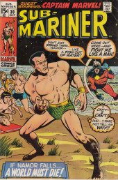 Sub-Mariner Vol.1 (Marvel - 1968) -30- Calling Captain Marvel