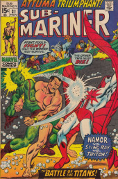 Sub-Mariner Vol.1 (Marvel - 1968) -31- Attuma Triumphant