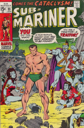 Sub-Mariner Vol.1 (Marvel - 1968) -33- Come the Cataclysm