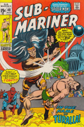 Sub-Mariner Vol.1 (Marvel - 1968) -40- ...Under the Name of Ritual...