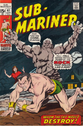 Sub-Mariner Vol.1 (Marvel - 1968) -41- Whom the Sky Would Destroy!