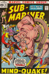 Sub-Mariner Vol.1 (Marvel - 1968) -43- Mindquake!