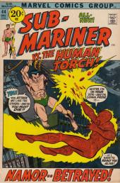 Sub-Mariner Vol.1 (Marvel - 1968) -44- Namor Betrayed!