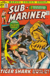Sub-Mariner Vol.1 (Marvel - 1968) -45- And Fire Stalks the Skies