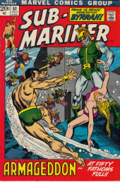 Sub-Mariner Vol.1 (Marvel - 1968) -51- Armageddon At Fifty Fathoms Full!