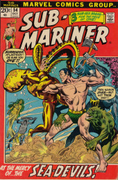 Sub-Mariner Vol.1 (Marvel - 1968) -54- Comes Now... the Decision!