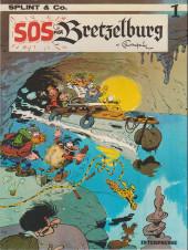 Spirou et Fantasio (en danois) (Splint & Co.) -1a81- SOS fra Bretzelburg