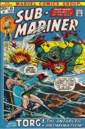 Sub-Mariner Vol.1 (Marvel - 1968) -55- The Abominable Snow-King