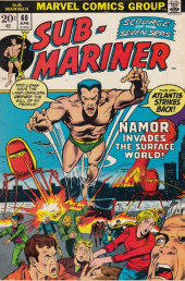 Sub-Mariner Vol.1 (Marvel - 1968) -60- The Invasion of New York!