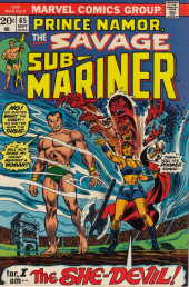 Sub-Mariner Vol.1 (Marvel - 1968) -65- The Cry of the She-Beast!