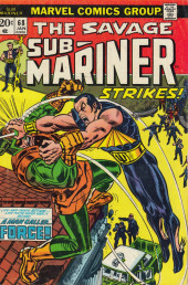 Sub-Mariner Vol.1 (Marvel - 1968) -68- On the Brink of Madness!
