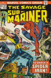 Sub-Mariner Vol.1 (Marvel - 1968) -69- Two Worlds...and Dark Destiny!
