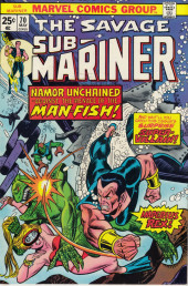 Sub-Mariner Vol.1 (Marvel - 1968) -70- Namor Unchained!