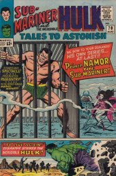 Tales to astonish Vol. 1 (Marvel - 1959) -70- The Start of the Quest!/ To Live Again!