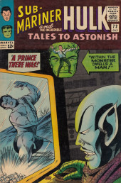 Tales to astonish Vol. 1 (Marvel - 1959) -72- A Prince There Was!/ Within the Monster Dwells a Man!