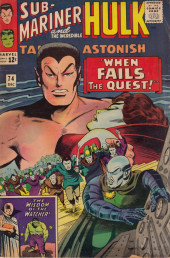Tales to astonish Vol. 1 (Marvel - 1959) -74- When Fails the Quest!/ The Wisdom of the Watcher!