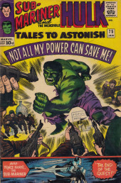 Tales to astonish Vol. 1 (Marvel - 1959) -75- The End of the Quest!/ Not All My Power Can Save Me!
