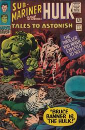 Tales to astonish Vol. 1 (Marvel - 1959) -77- To Walk Amongst Men!/ Bruce Banner Is the Hulk!