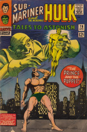 Tales to astonish Vol. 1 (Marvel - 1959) -78- The Prince and the Puppet!/ The Hulk Must Die!