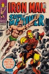 Couverture de Iron Man and Sub-Mariner (1968) -1- Iron Man and Sub-Mariner #1