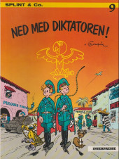 Spirou et Fantasio (en danois) (Splint & Co.) -9a78- Ned med diktatoren !