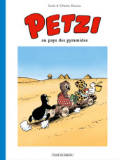 Petzi (Place du Sablon) -4- Petzi au pays des pyramides