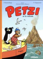 Petzi (Chours) -1- Petzi et le volcan