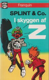 Spirou et Fantasio (en danois) (Splint & Co.) -Poche20- I skyggen af z