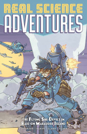 Atomic Robo Presents Real Science Adventures - The Flying She-Devils in Raid on Marauder Island