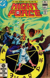 Night Force (1982) -2- The Summoning Chapter Two The Burning Hand!