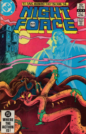 Night Force (1982) -9- Beast Chapter Two: Symbiosis!