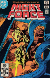 Night Force (1982) -10- Beast! Chapter Three: The Monster In Us!