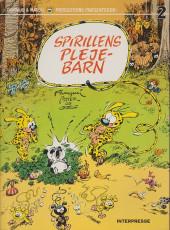 Marsupilami (en danois) (Spirillen) -2- Spirillens pleje-barn