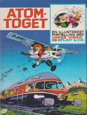 Spirou et Fantasio (en danois) (Splint & Co.) -HS- Atom-toget