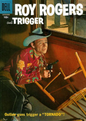 Roy Rogers and Trigger (Dell - 1955) -119- Tornado!