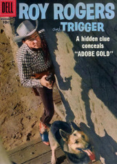 Roy Rogers and Trigger (Dell - 1955) -120- Adobe Gold