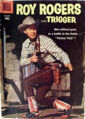 Roy Rogers and Trigger (Dell - 1955) -121- Victory Fists