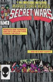 Marvel Super Heroes Secret Wars (Marvel comics - 1984) -4- Situation: Hopeless!