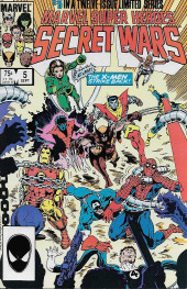 Marvel Super Heroes Secret Wars (Marvel comics - 1984) -5- The Battle Of Four Armies!