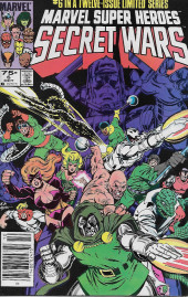 Marvel Super Heroes Secret Wars (Marvel comics - 1984) -6- A Little Death...