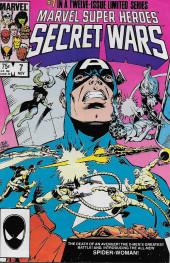 Marvel Super Heroes Secret Wars (Marvel comics - 1984) -7A- Berserker!