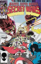 Marvel Super Heroes Secret Wars (Marvel comics - 1984) -9- Assault On Galactus!