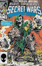 Marvel Super Heroes Secret Wars (Marvel comics - 1984) -10- Death To The Beyonder!
