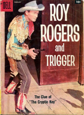 Roy Rogers and Trigger (Dell - 1955) -122- The Clue of